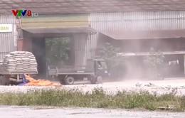 Quảng Trị: Người dân hứng chịu ô nhiễm bụi từ bãi trung chuyển thạch cao gần 20 năm