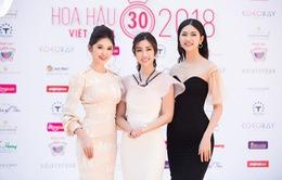 Đỗ Mỹ Linh đọ sắc cùng 2 Á hậu Thanh Tú, Thuỳ Dung