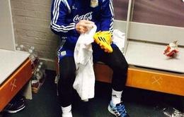MU lấy ảnh Messi tự lau giày để giáo dục cầu thủ trẻ