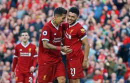"""Đã mạnh, Liverpool còn mạnh hơn với """"chân chạy"""" tái xuất"""