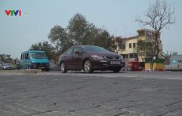 Nhựa được tái chế thành gạch lát đường ở Ghana