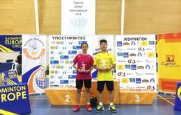 Cầu lông trẻ Việt Nam tỏa sáng ở đấu trường quốc tế