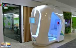 Độc đáo máy kiểm tra sức khỏe miễn phí tại UAE