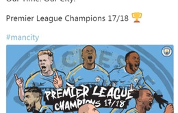 Hàng loạt kỷ lục của tân vương Ngoại hạng Anh Man City