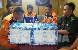 Thuyền viên bị cho là mất tích đã được tìm thấy ở vùng biển gần Nha Trang