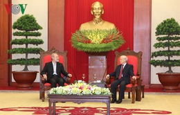 Tổng Bí thư Nguyễn Phú Trọng tiếp Chủ tịch Quốc hội Iran