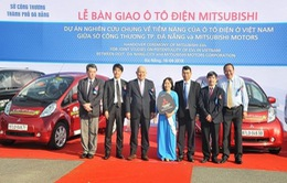Tập đoàn Mitsubishi Motors bàn giao xe ô tô điện cho thành phố Đà Nẵng