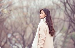 Hoàng Yến Chibi khoe vẻ đẹp trong veo giữa tiết trời Hàn Quốc