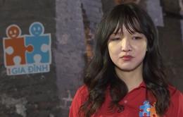 """Cao Thanh Thảo My rơi nước mắt trong """"Chúng ta là một gia đình"""""""