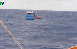 Cứu nạn thuyền viên tàu ĐNa 90765 TS bị chìm trong điều kiện gió mùa tăng cường mạnh