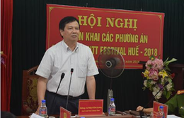 Thừa Thiên Huế triển khai kế hoạch bảo đảm an ninh trật tự Festival Huế 2018