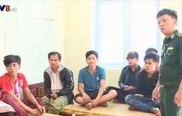 Quảng Trị giải cứu thành công 11 người dân bị ngược đãi tại khu đào vàng