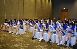 Thí sinh Hoa hậu Biển Việt Nam toàn cầu 2018 hăng say trau dồi kiến thức biển đảo