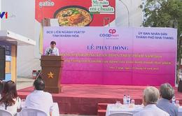 Khánh Hòa phát động tháng hành động vì an toàn thực phẩm