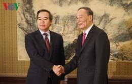 Đảng, Chính phủ và nhân dân Trung Quốc hết sức coi trọng quan hệ với Việt Nam