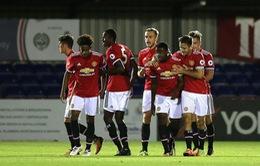 U23 Man Utd nhận hung tin xuống hạng ở mùa tới