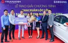 Trần Anh công bố chủ nhân chiếc xe hơi trị giá 600 triệu đồng