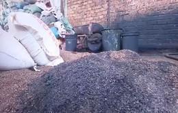 Cà phê trộn pin: Chủ cơ sở khai sản xuất làm phân bón