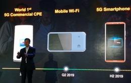 Chiếc điện thoại 5G đầu tiên của Huawei sẽ ra mắt vào năm 2019