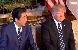 Tổng thống Mỹ Donald Trump tiếp Thủ tướng Nhật Abe, bàn về Triều Tiên và thương mại