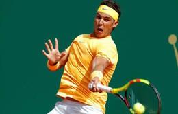 Kết quả Monte Carlo Masters vòng 2: Rafael Nadal giành chiến thắng dễ dàng