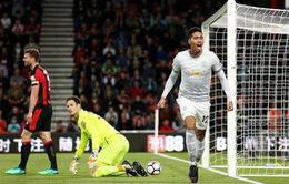 Kết quả bóng đá châu Âu sáng 19/4: Real 1-1 A.Bilbao, Bournemouth 0 - 2 MU, Crotone 1 - 1 Juventus, Napoli 4 - 2 Udinese...