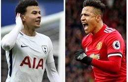 Đội hình tiêu biểu vòng 32 Ngoại hạng Anh: Song sát Sanchez, Alli