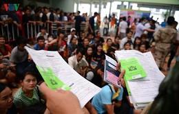 Gần 60.000 lao động nhập cư vào Thái Lan không kịp đăng ký