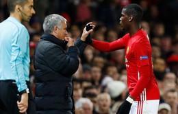 Pogba quả quyết không có xích mích với Mourinho