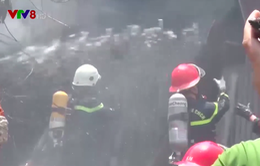 Cháy nhà xưởng tại Đà Nẵng