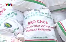 Lâm Đồng tiêu huỷ rác thải nông nghiệp độc hại