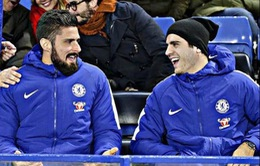 Morata - Giroud: Cặp song sát khiến Conte hài lòng