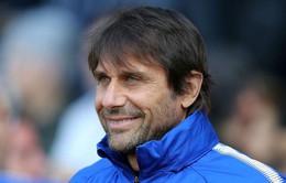 """Conte hài lòng với """"pháo hai nòng"""" của Chelsea"""