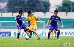 Vòng 6 Nuti Café V.League 2018 ngày 20/4: SLNA 0-0 B. Bình Dương, FLC Thanh Hoá 1-1 XSKT Cần Thơ