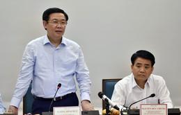 Phó Thủ tướng Vương Đình Huệ đề nghị đẩy mạnh giải ngân đầu tư công ở Hà Nội