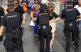 3200 nhân viên an ninh bảo vệ trận chung kết Cúp Nhà Vua Tây Ban Nha