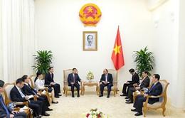 Thủ tướng tiếp Chủ tịch Khu tự trị dân tộc Choang, Trung Quốc