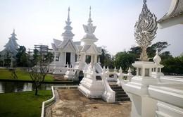 Ngôi chùa màu trắng đặc biệt ở 'xứ sở chùa vàng'