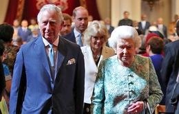Thái tử Charles chính thức trở thành người kế vị Nữ hoàng Anh