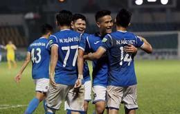 Than Quảng Ninh 1-0 CLB Nam Định: Mạc Hồng Quân lập công, Than Quảng Ninh thắng nhọc nhằn!