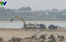 Quảng Ngãi siết chặt quản lý khai thác cát