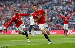 Ngược dòng hạ Tottenham, Man Utd lần thứ 20 vào chung kết FA Cup