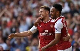 VIDEO Arsenal 4-1 West Ham: Pháo thủ bùng nổ 10 phút cuối