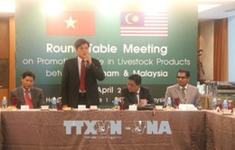 Thúc đẩy xuất - nhập khẩu sản phẩm chăn nuôi giữa Việt Nam và Malaysia