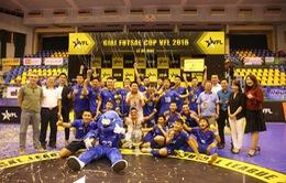 Hanoi Buffaloes vô địch Giải futsal VFL Cup 2018