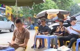 Góc đọc sách miễn phí giữa Thủ đô