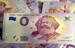 """""""Cháy hàng"""" đồng Euro kỷ niệm 200 năm ngày sinh Karl Marx"""