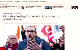 EU sẽ bảo vệ người phanh phui bê bối của các doanh nghiệp