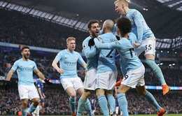 VIDEO: HIGHLIGHTS Manchester City 5-0 Swansea (vòng 35 Ngoại hạng Anh)