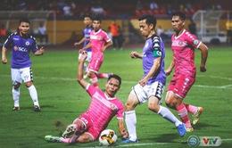 Chùm ảnh: CLB Hà Nội chia điểm đáng tiếc trước CLB Sài Gòn